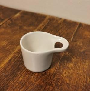 Bilde av Scoop mini kopp/ skål, hvit