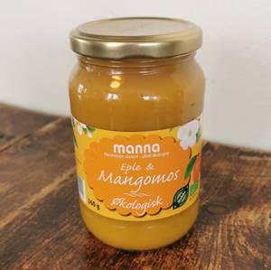 Bilde av Eple- og mangopuré u/sukker, 360 g, økologisk,