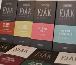 Bilde av Fjåk, 45% melk brunost