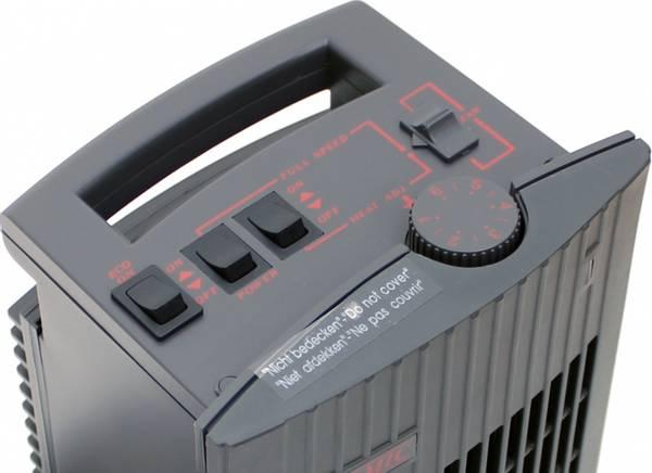 Vifteovn keramisk 230V, 200-1500W