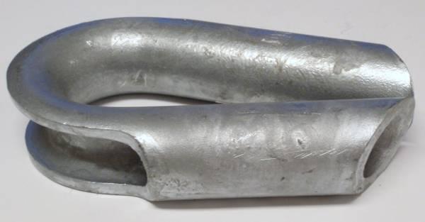 Rørkause galvanisert jern