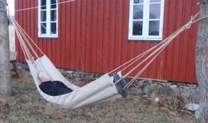 Bilde av Hengekøye av lin