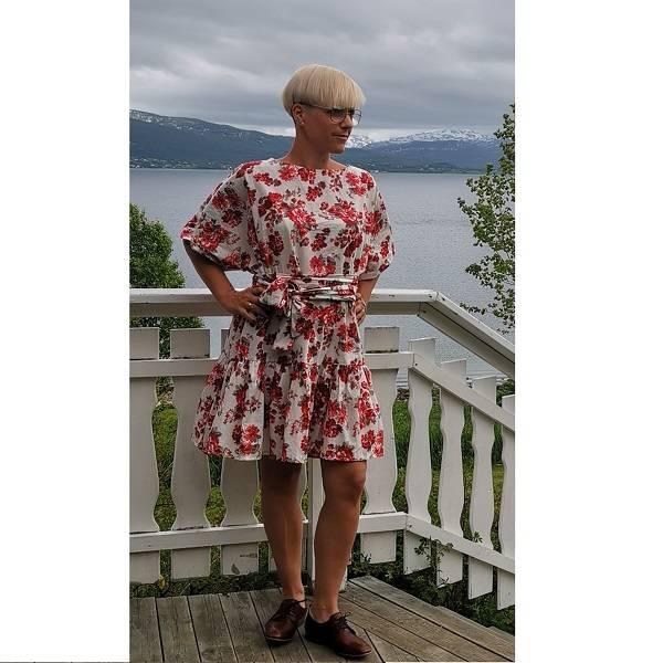 Linn-kjole