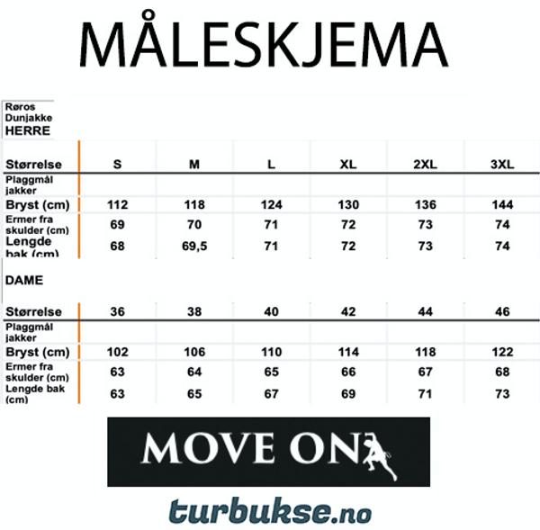 Move On Røros Dunjakke Navy m/hette Herre