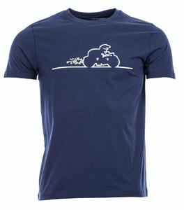 Bilde av Artic North Streken 4 Navy T-skjorte herre