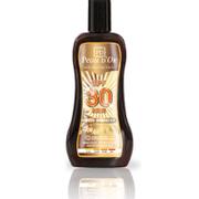 Solbeskyttelse med bronzer SPF 30