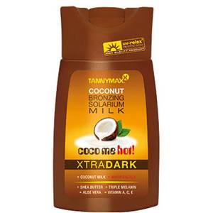 Tannymaxx Xtra Dark Hot Coconut Bronzing Solarium Milk