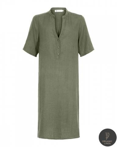 Bilde av EMILY SHORT DRESS- oilgreen