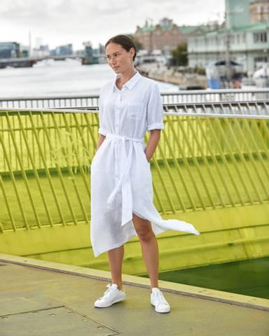 Bilde av NAOMI DRESS - WHITE