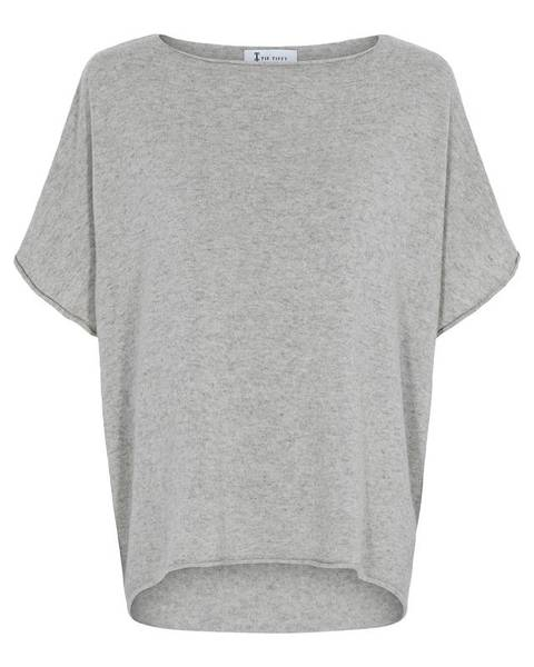 COLETTE PONCHO - light grey