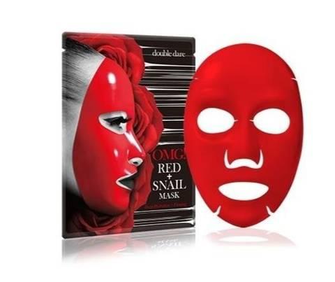 Bilde av OMG Red + Snail Mask 1stk