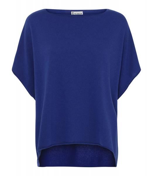 COLETTE PONCHO - royal blue-utsolgt