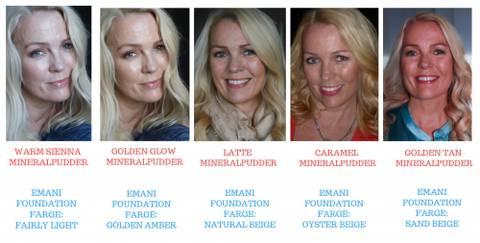 Bilde av Hvordan finne rett farge til huden og mer