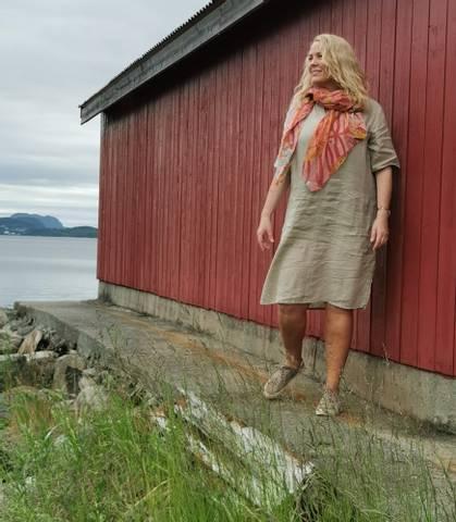 Bilde av EMILY SHORT DRESS- nature