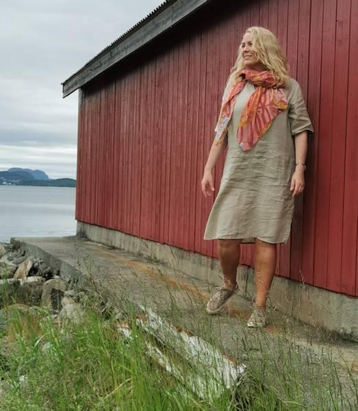 EMILY SHORT DRESS- nature