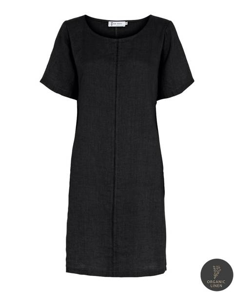 NELLY DRESS - black, str. Small