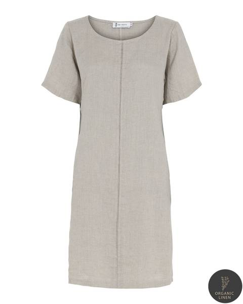 NELLY DRESS - nature, str. Small