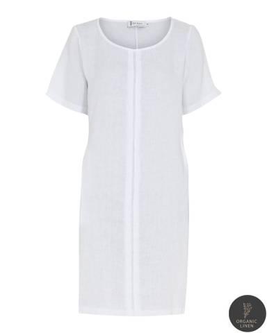 Bilde av NELLY DRESS - white, str. Small