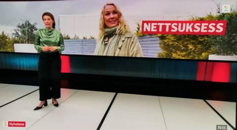 Bilde av TV2 NYHETENE reportasje
