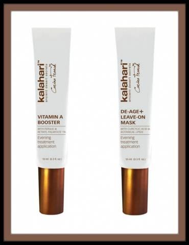 Bilde av KALAHARI Vitamin A booster + De-Age Leave-On mask