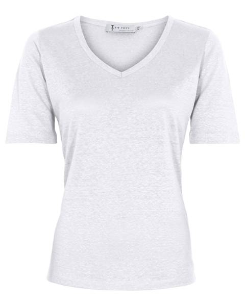 Linen T-Shirt - White