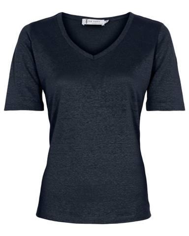 Bilde av Linen T-Shirt - Navy
