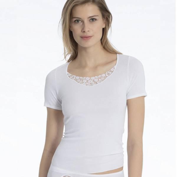 Bilde av Calida t-skjorte m/blonde
