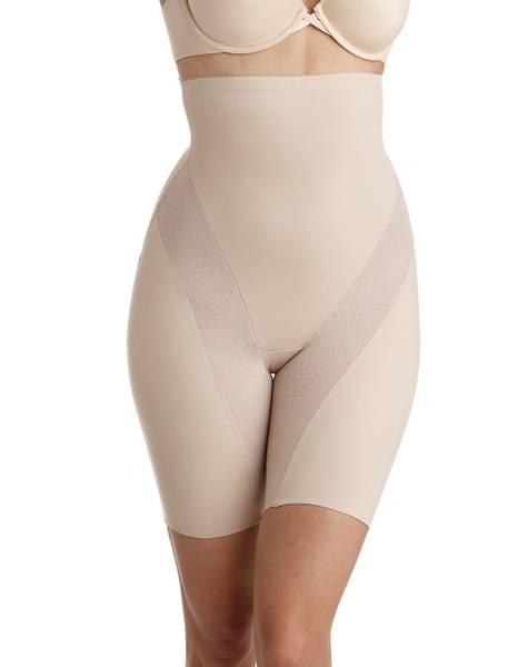 Bilde av Hold inn panty m/ben, high waist