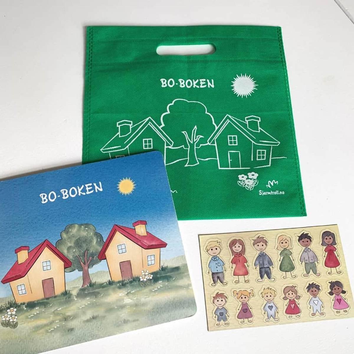 BO-BOKEN: For barn med to hjem