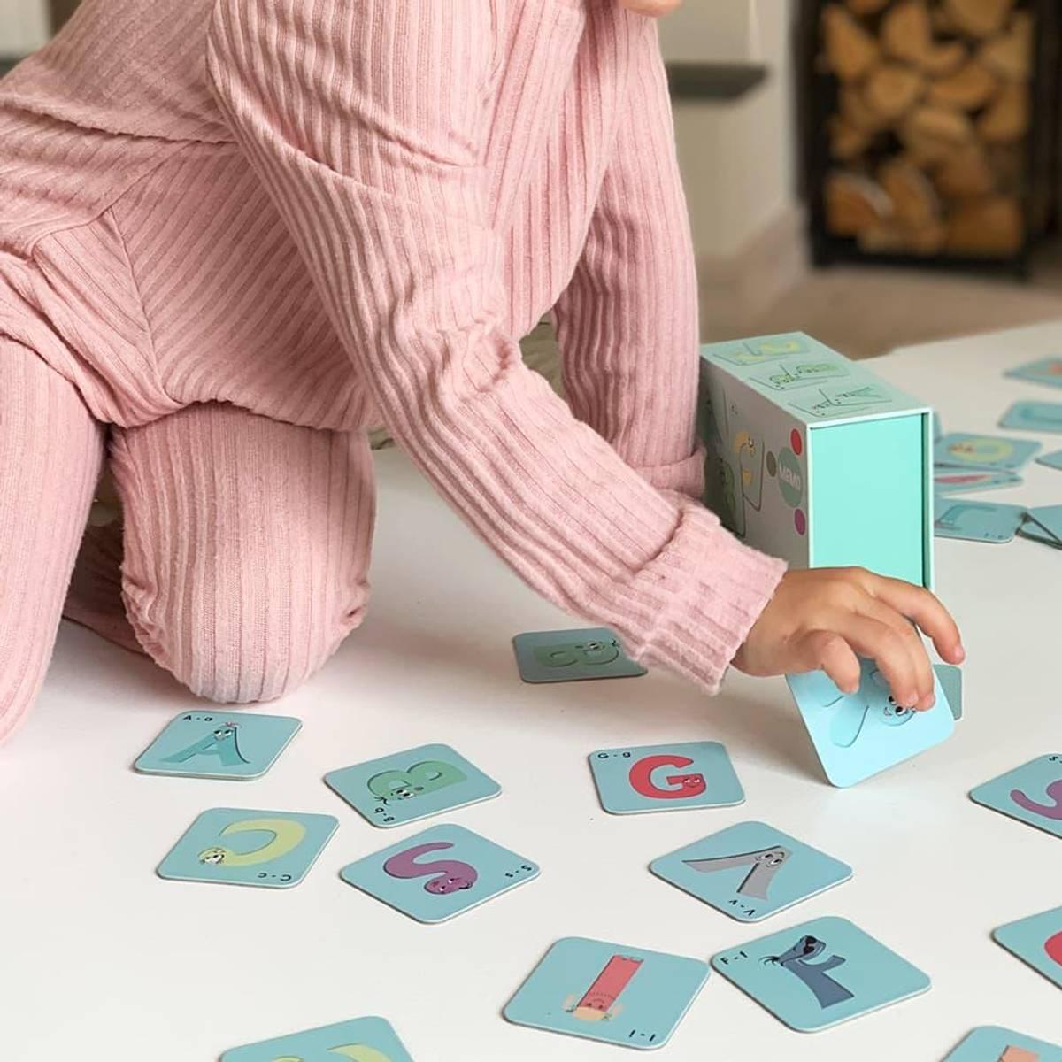 ABC MEMO - Morsomt og lærerikt memoryspill