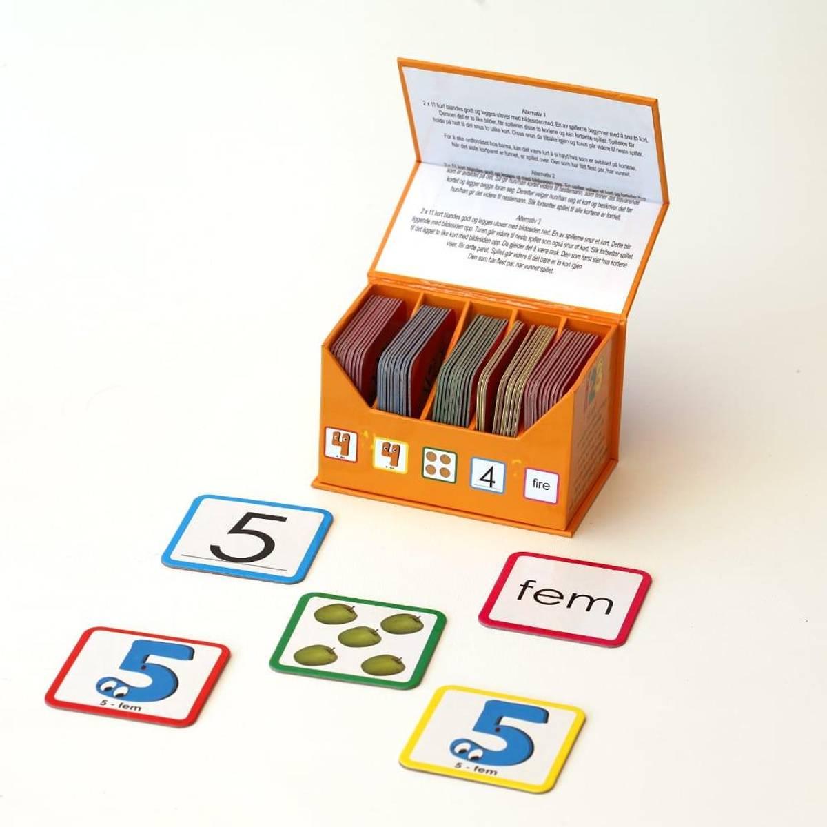 123 MEMO - Lærerikt memoryspill med tall