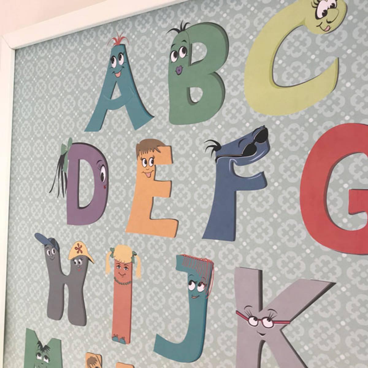 ABC & 123 PLAKATER: Lærerikt og dekorativt til barnerommet
