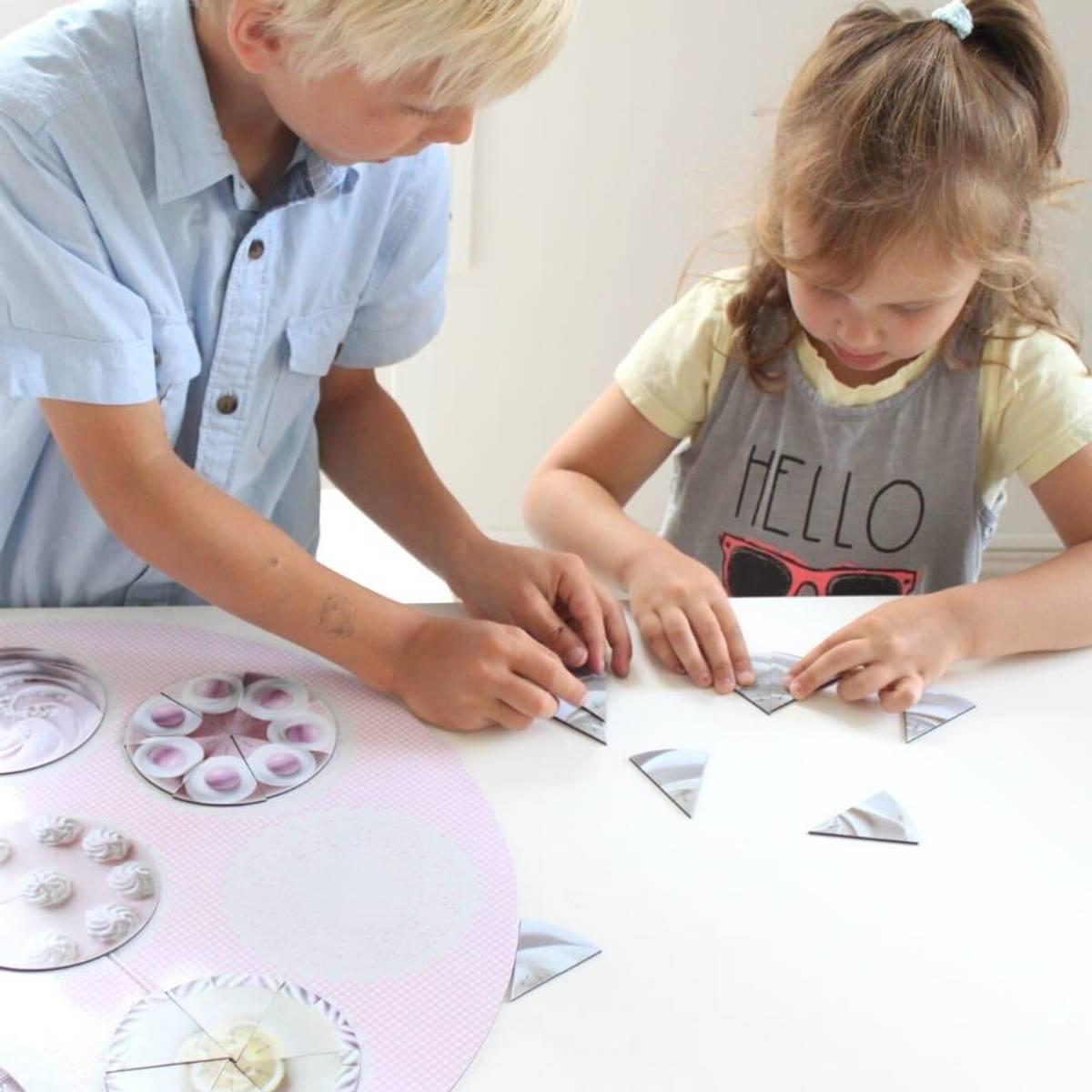 MAGNETISKE KAKER - Lar barna leke seg til læring