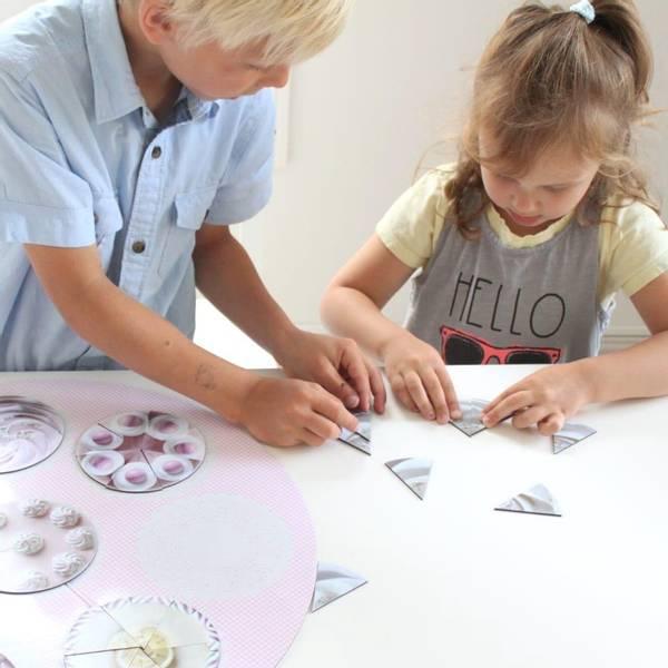 Bilde av MAGNETISKE KAKER - Lar barna leke seg til læring