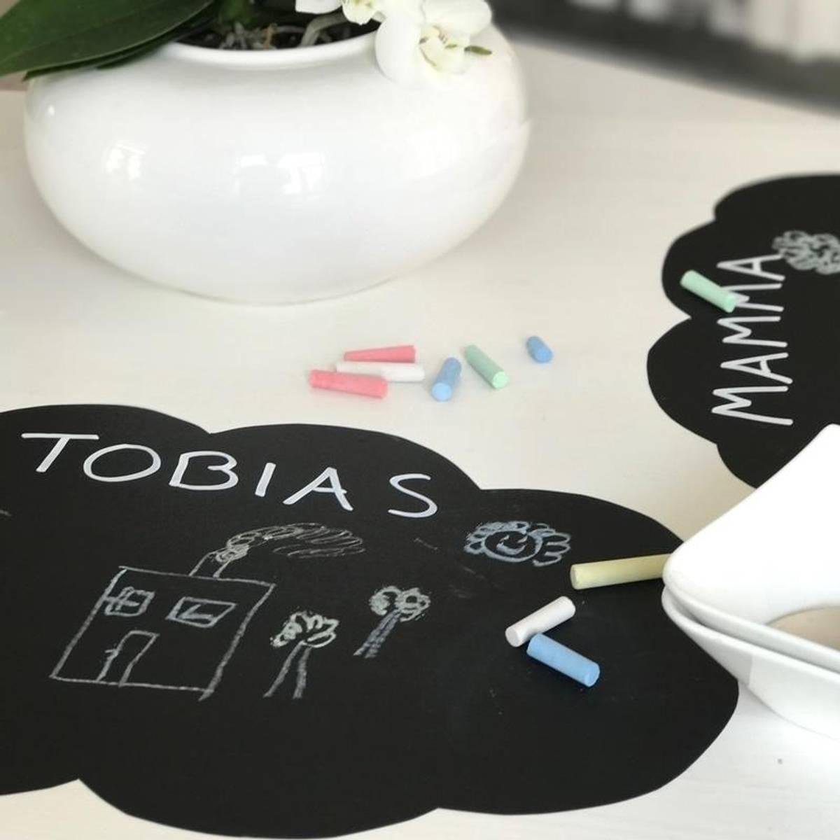 KRITT-TAVLE - Lag dine egne wall stickers