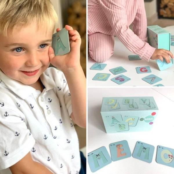 Bilde av ABC MEMO - Morsomt og lærerikt memoryspill