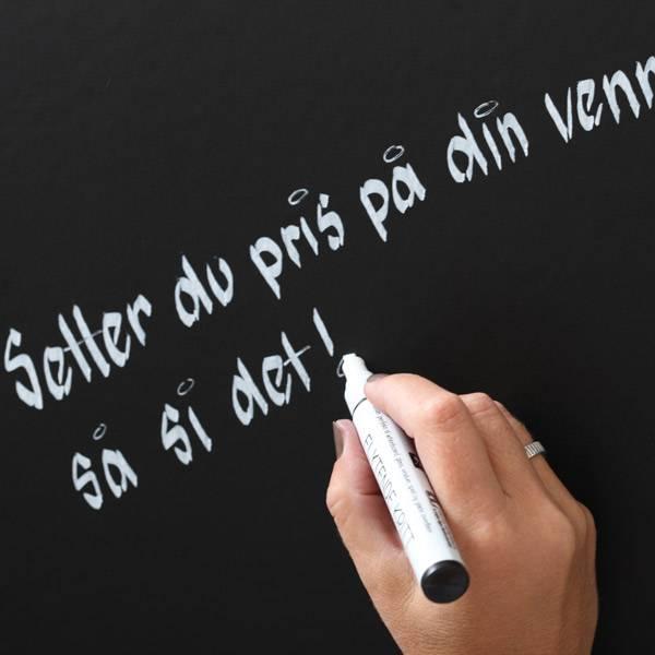 Bilde av FLYTENDE KRITT - Skriv på speil, vinduer, kopper,