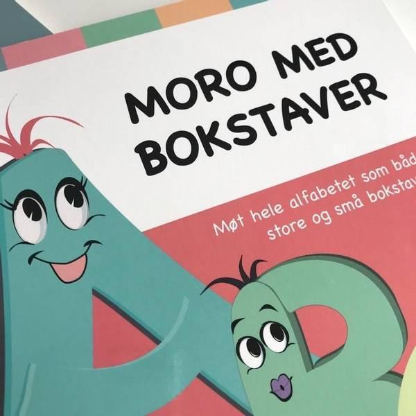Bilde av MORO MED BOKSTAVER OG TALL - Bokpakke