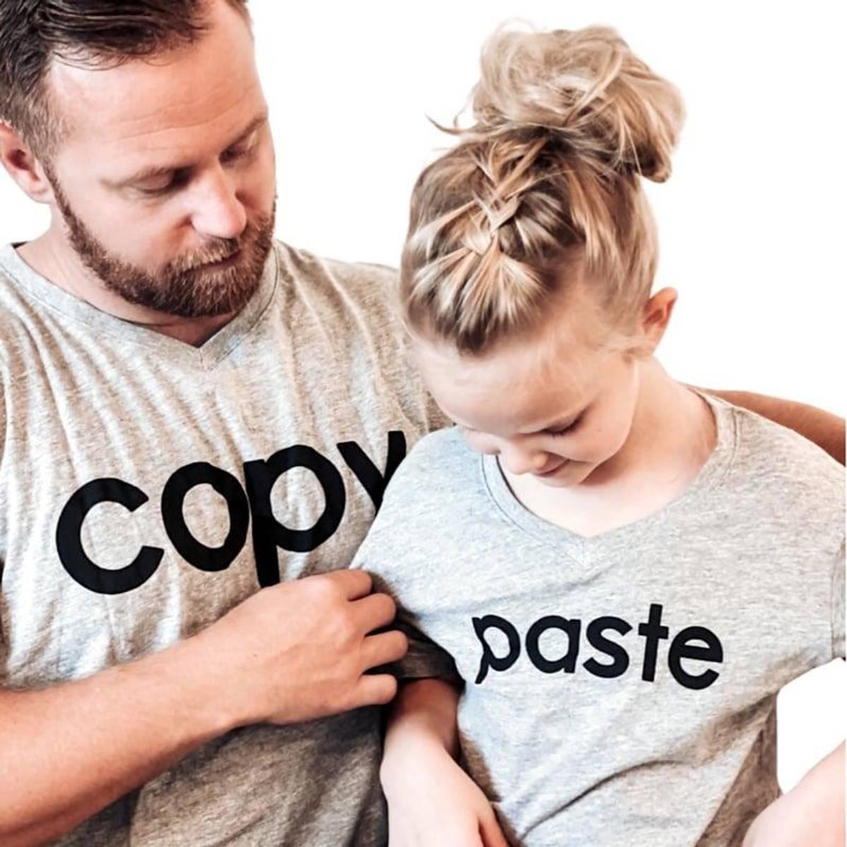 COPY, PASTE: Matchende T-Skjorter
