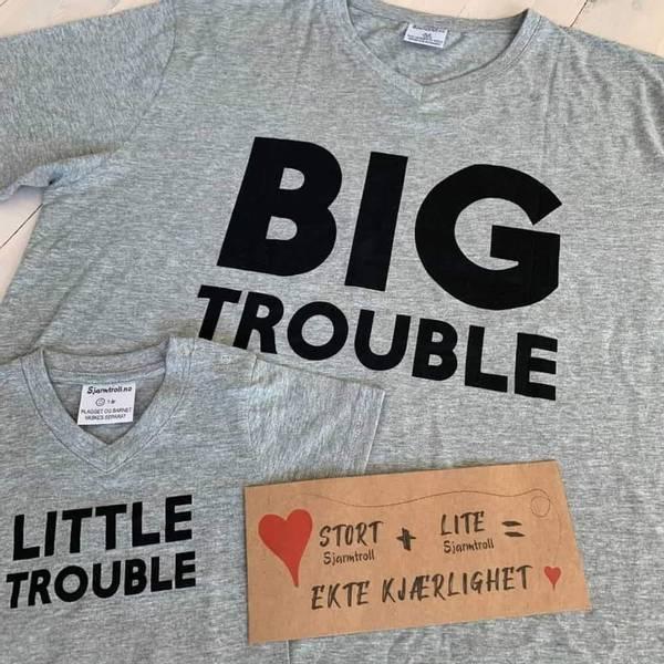 Bilde av BIG TROUBLE & LITTLE TROUBLE: Matchende