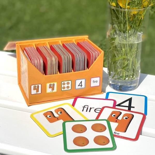 Bilde av 123 MEMO - Lærerikt memoryspill med tall