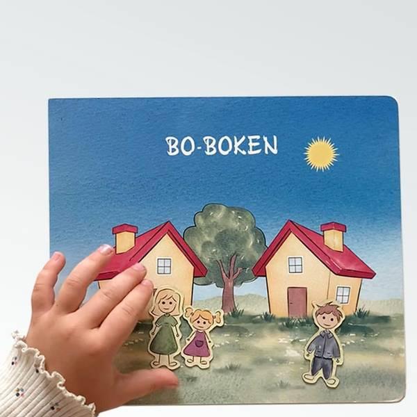 Bilde av BO-BOKEN: For barn med to hjem