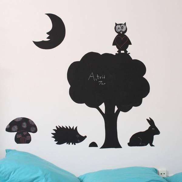 Bilde av KRITT-TAVLE - Lag dine egne wall stickers