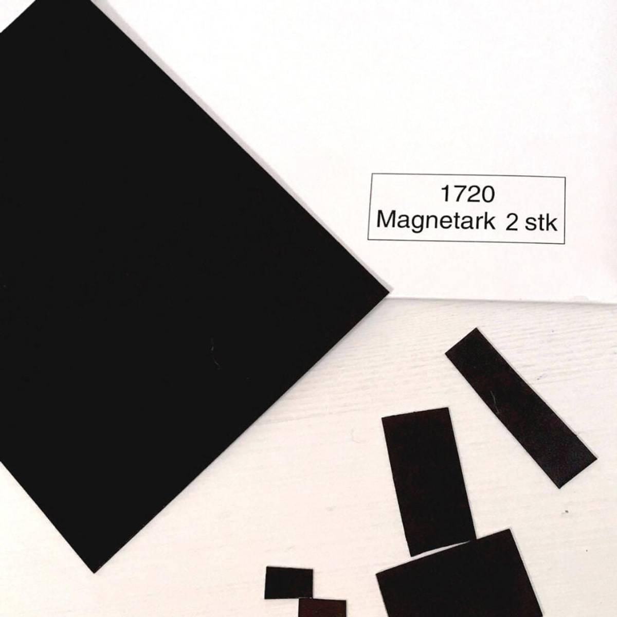 2 STK. MAGNETARK - Til symboler & gaver