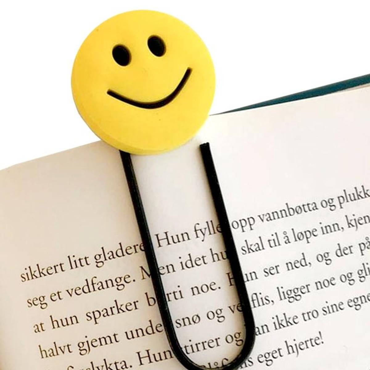 BOKMERKE SMILEFJES - 1 stk