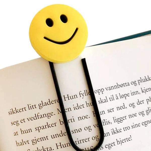 Bilde av BOKMERKE SMILEFJES - 1 stk