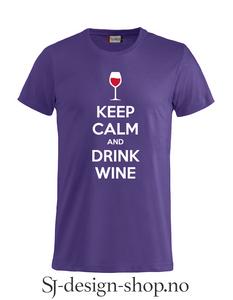 Bilde av Keep calm and drink wine