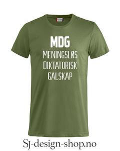 Bilde av MDG - Meningsløs Diktatorisk
