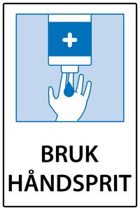 Bilde av Bruk håndsprit