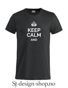 Bilde av Keep calm and...
